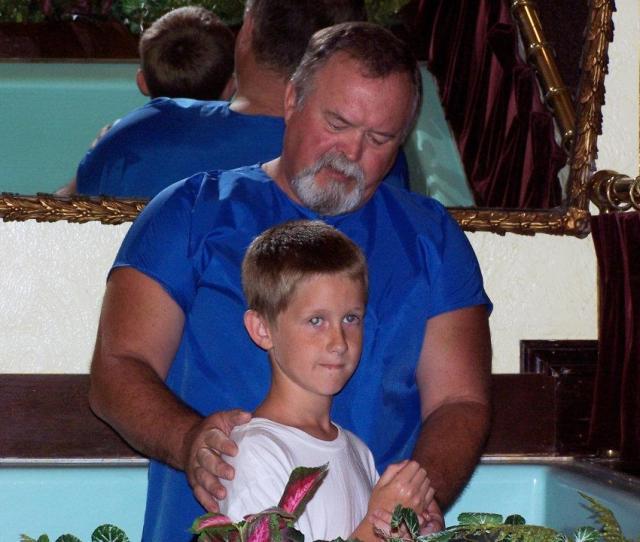 Baptism Of Brayden Vaughn By Ken Boswell On July 31