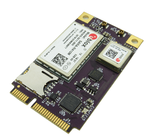 Modem Mini PCIe GW16126 y radio Bluetooth Calendae