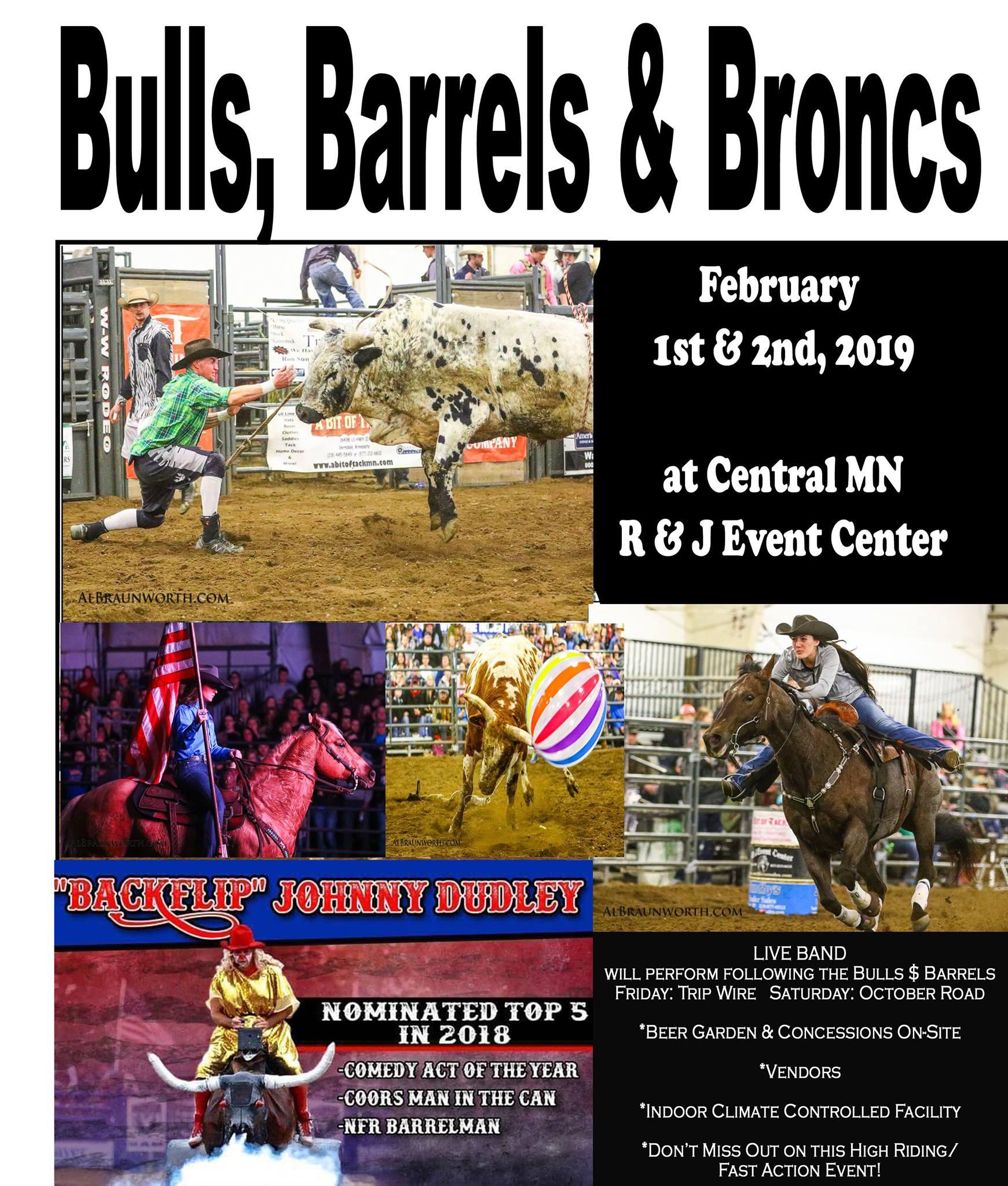 Nfr Calendar.15th Annual Bulls Barrels And Broncs Brainerd Mn Lakes Calendar