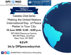 Making the International Day of Peace Matter in Your City @ DPI NGO Resource Centre