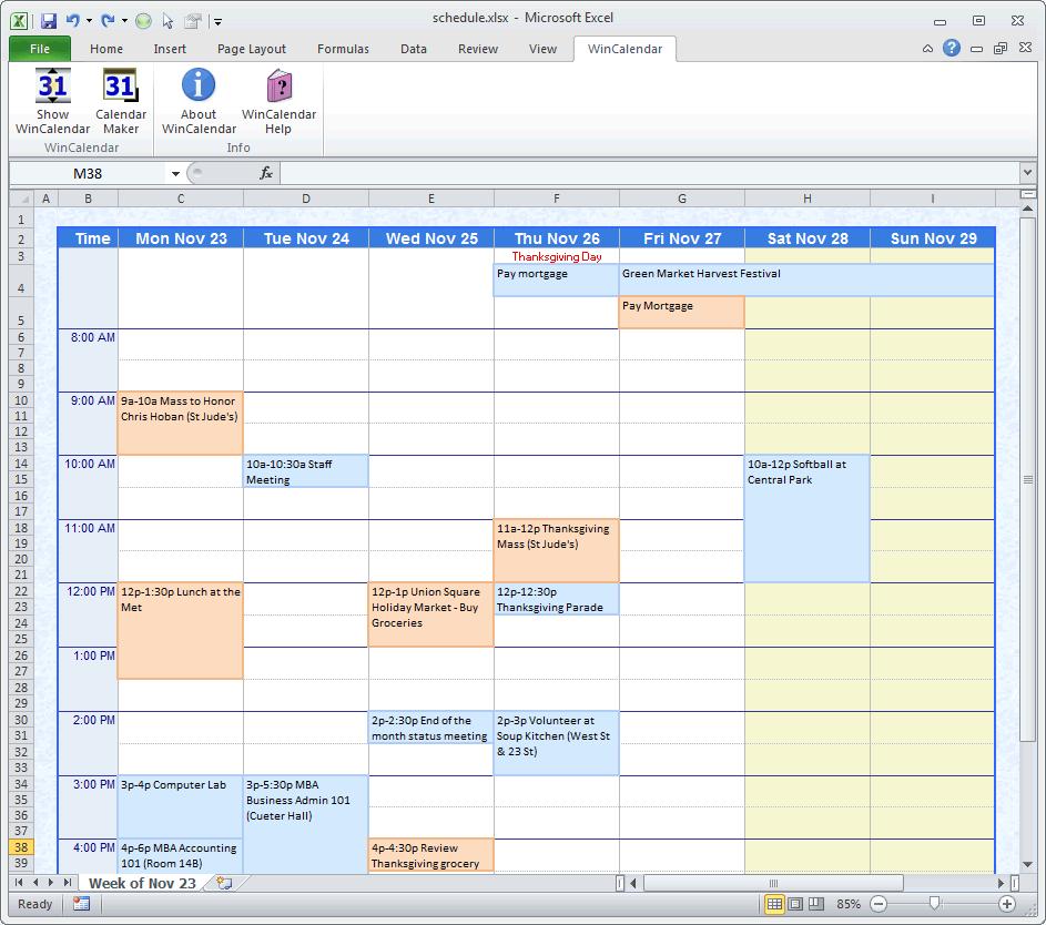 Agenda Excel Template excel assignment help stonewall services – Sample Agenda Calendar