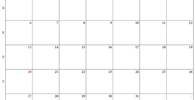 kalender dezember 2020