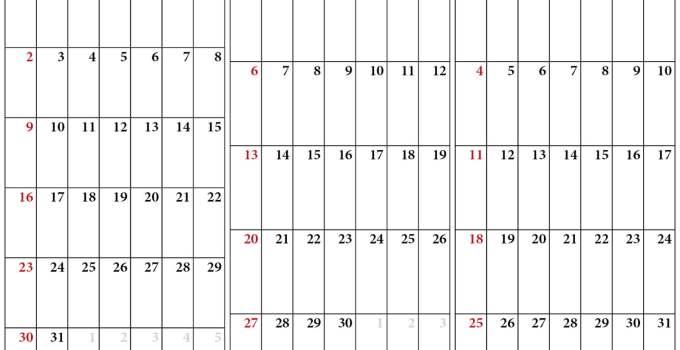 calendrier juillet aout septembre 2020