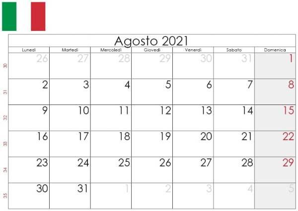 Calendario agosto 2021 da stampare2