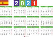 Calendario 2021 Plantilla 2