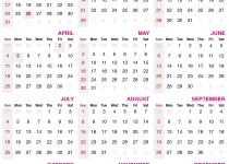 2021 calendar with public holidays