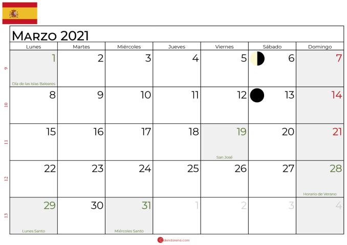 calendario marzo 2021_lunar