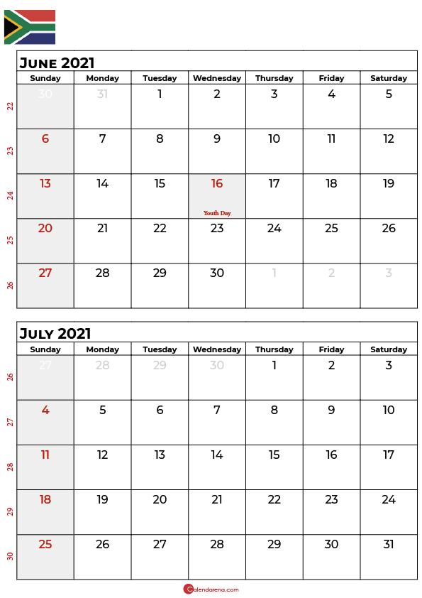june july 2021 calendar_portrait SA