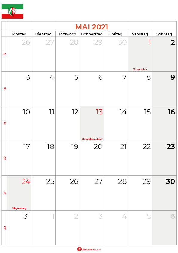 2021-mai-kalender-Nordrhein-Westfalen