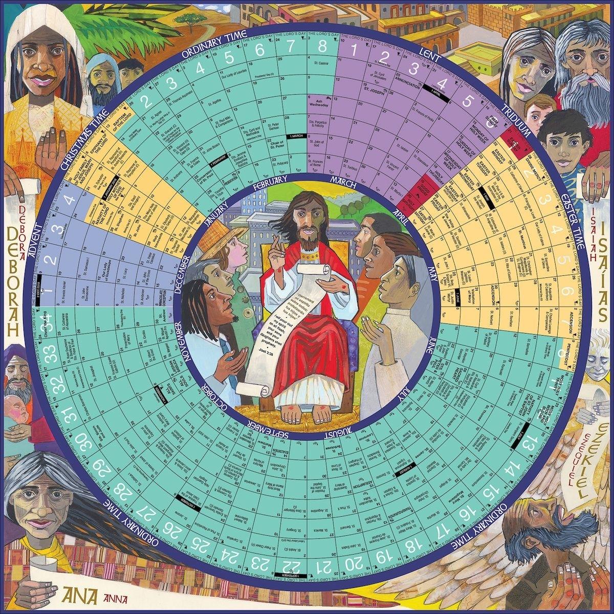 Catholic Liturgical Calendar Free Print