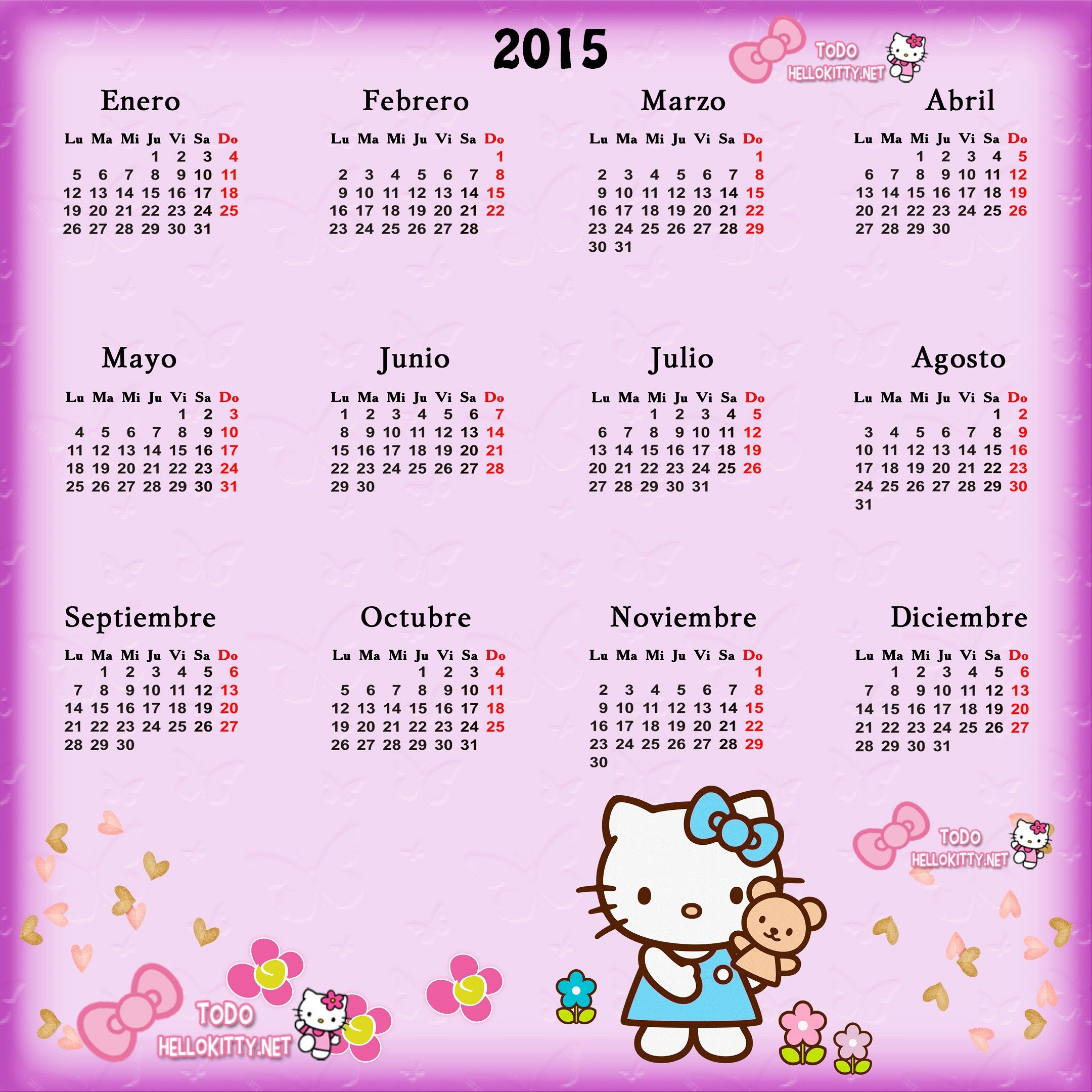 Realmente Esto Calendario Para Imprimir Con Feriados