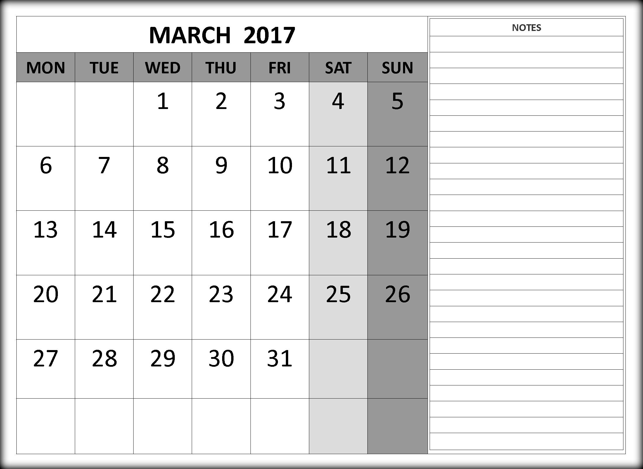 Printable March Calendar Templates With Holidays Free Calendar Amp Festivals