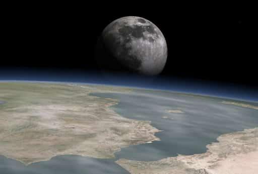 calendrier lunaire espace lune terre