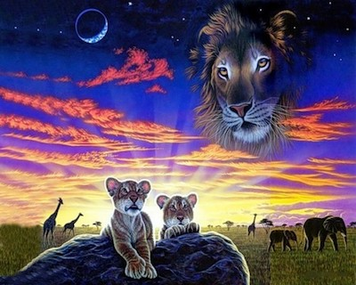 calendrier lunaire du 22 au 23 février nature animaux