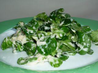 calendrier lunaire salade de mache au roquefort