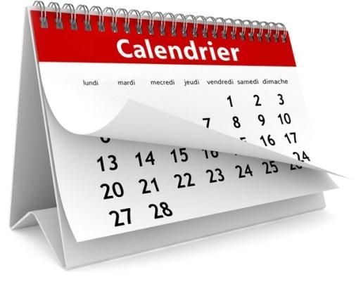 calendrier 2017 en format excel