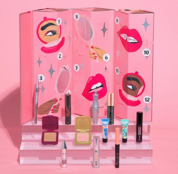 Calendrier de l'Avent beauté maquillage Benefit Cosmetics 2020 : avis, contenu, code promo
