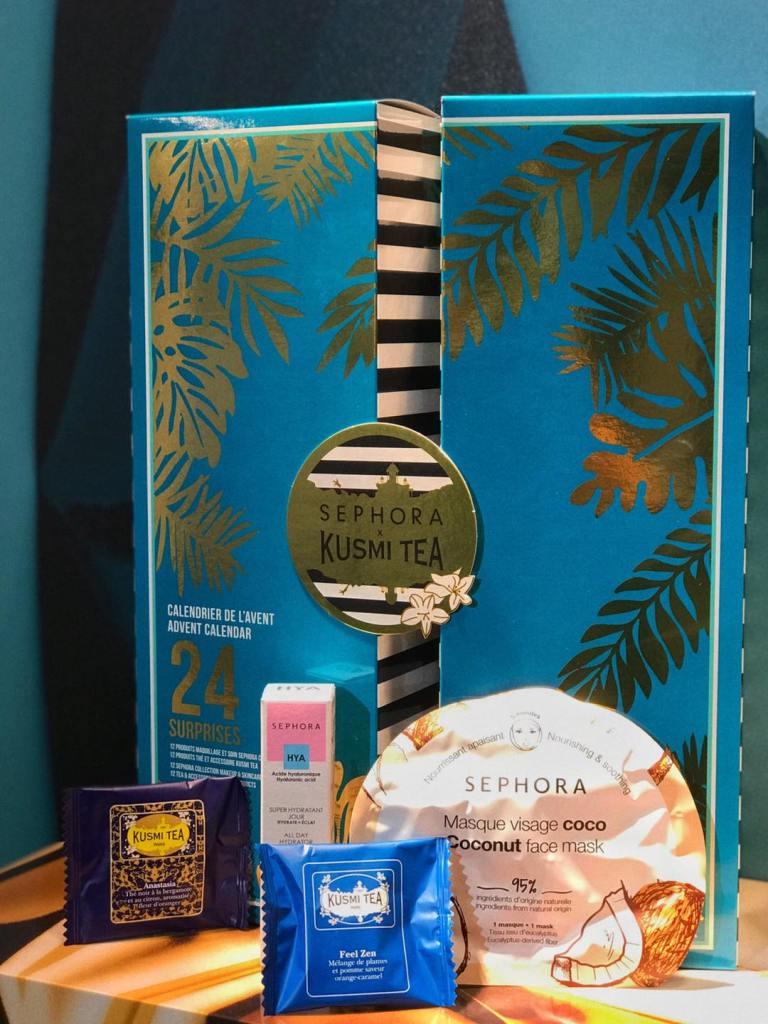 Calendrier de l'Avent Sephora Kusmi tea 2020 : avis, contenu, code promo !