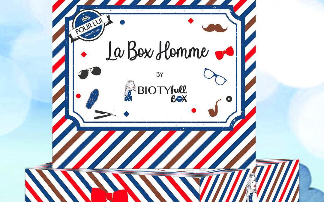 Biotyfull Box Homme Edition 2020 –  Contenu + Code Promo !