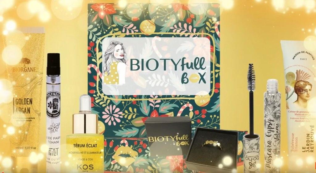biotyfull box decembre 2020 spoil contenu