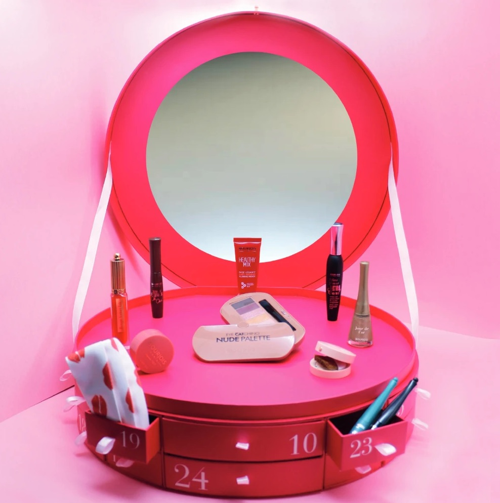 Contenu calendrier de l'Avent Maquillage Bourjois 2020 + Code promo