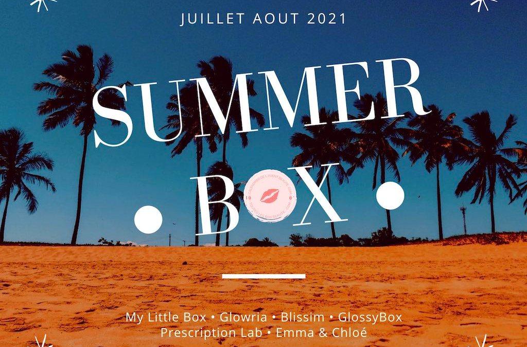 Spoiler Contenu My Little Box Juillet Aout 2021 + Code Promo 5€