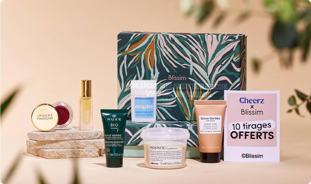 Spoiler Contenu Blissim Box Octobre 2021 : 5 produits de beauté green + 20€ offerts !