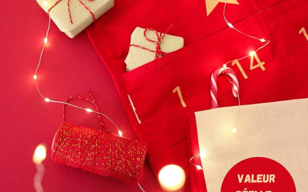 Calendrier de l'Avent MAdemoiselle Confettis : un calendrier pour petites et jeunes filles qui contient des cosmétiques, accessoires, gourmandises, kits créatifs etc.