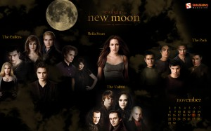 calendrier 2009 twilight new moon