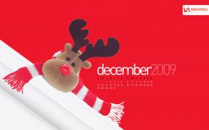calendrier decembre 2009 noel