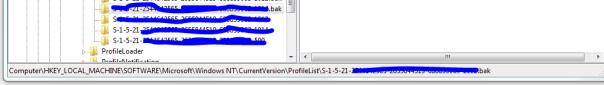 User Profile Service service failed the logon. User profile cannot be loaded