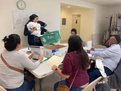 Census Volunteers Canvassing Calexico Prior to Count