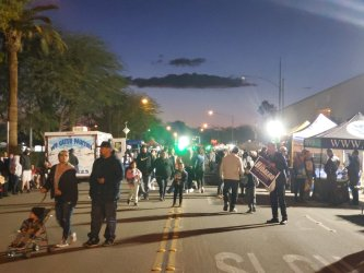 Mardi Gras Parade and Festival Light Up El Centro