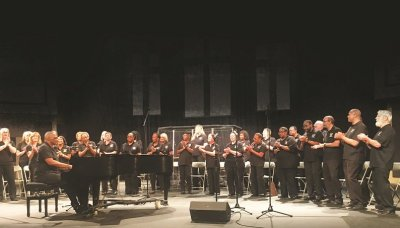 MLK Jr Community Choir Performs and Helps Children