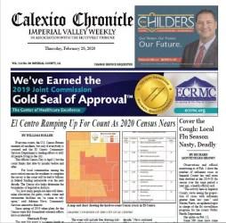 Calexico Chronicle e-Edition 2-20-20