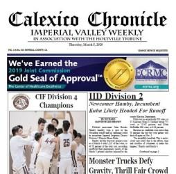 Calexico Chronicle e-Edition 3-5-2020