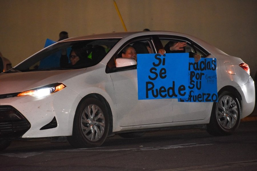 Dozens Turn Out for Drive-By Tribute to Farmworkers