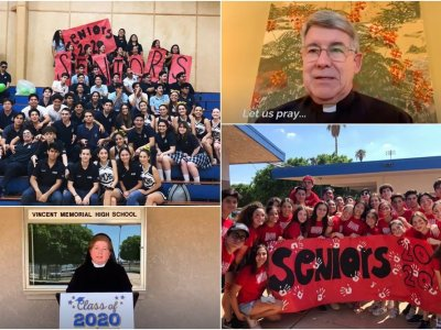 COVID Cuts Short 'Peak of Happiness' for VMCHS 2020 Grad