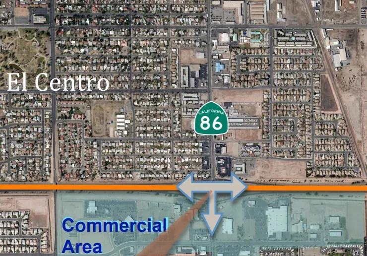 Imperial Ave. Interchange Work Starting