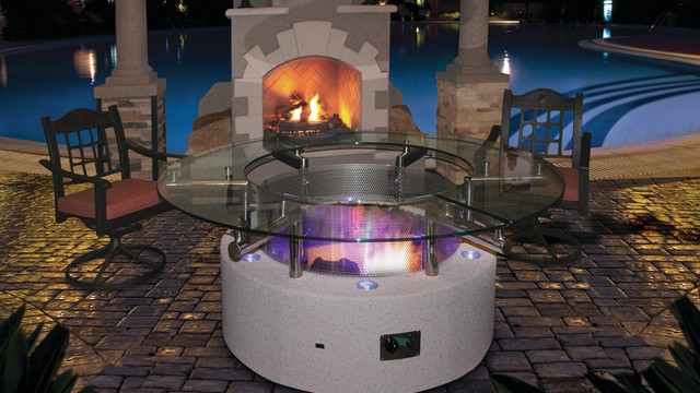 A Cal Flame Outdoor Fireplace Makes Winter Nights Cozy Cal Flame Blog