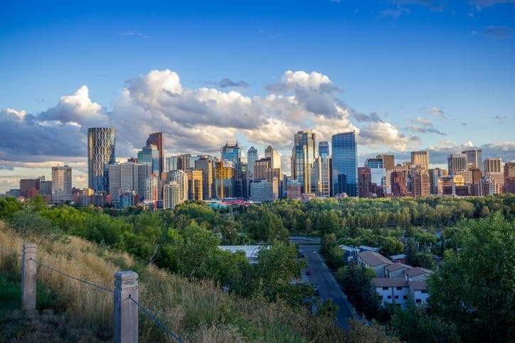 Downtown-Calgary