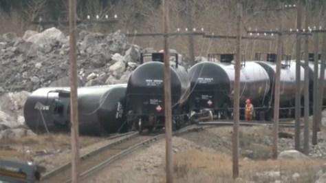 Crowsnest Pass train derailment
