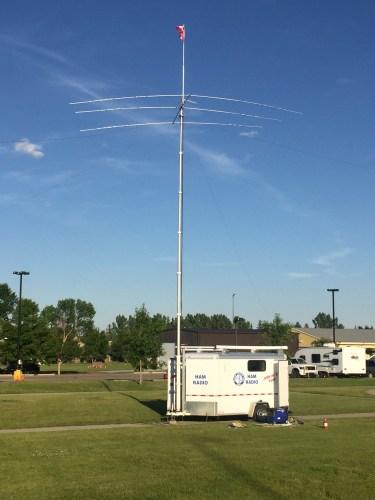 Amateur Radio Mobile Communications Unit