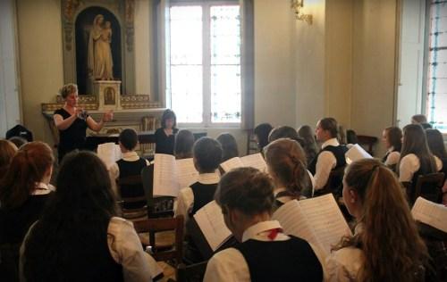 Calgary Children's Choir Rehearsal