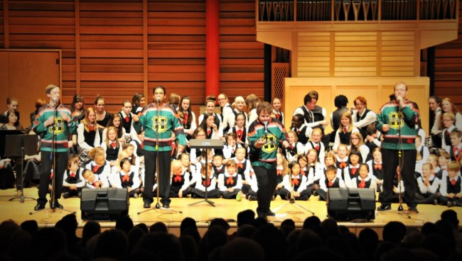 Calgary Children's Choir and The Heebee Jeebees