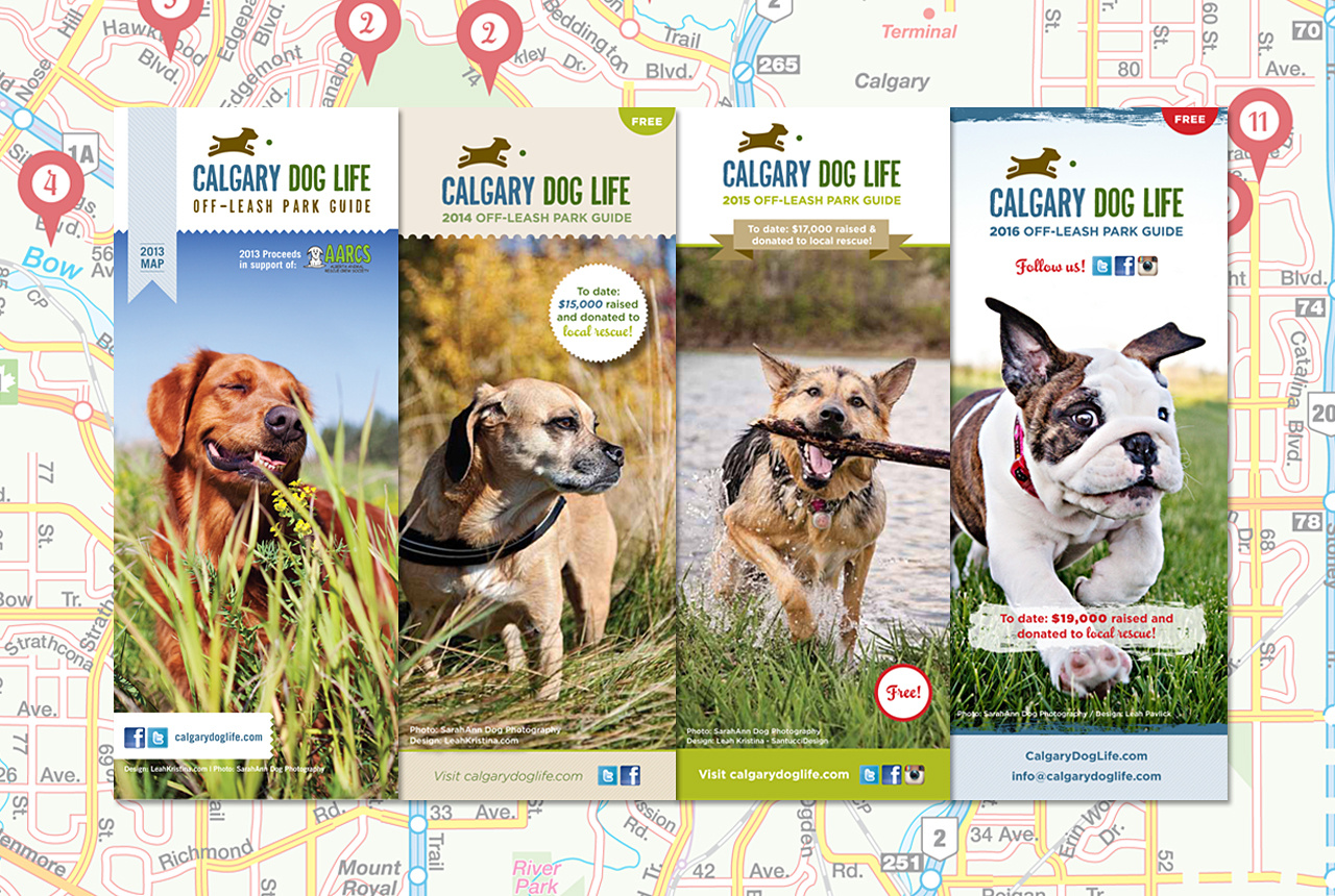 Home of Calgary's Off-Leash Map Publication!