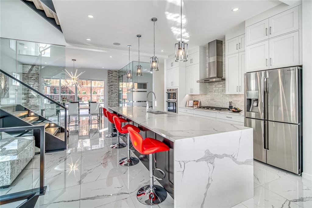Calgary luxury kitchens