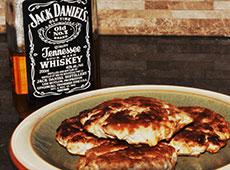 Jack Daniels sausages.