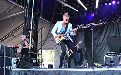 Canadian band, Mother Mother, perform at Fort Calgary at X-Fest, one of the events possibly affected by city councils plan to examine Calgary's current noise bylaw. Photo by Justin Wilson