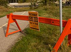 Calgary closed parkways